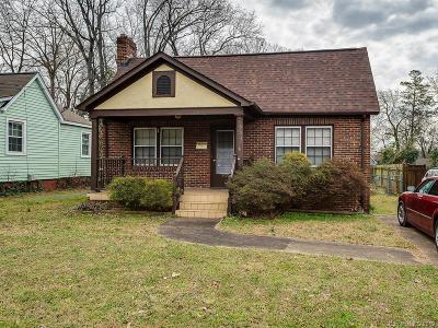Charlotte Single Family Home For Sale: 3420 Oakwood Avenue