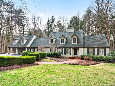 Biltmore Forest NC Single Family Home For Sale: $1,150,000