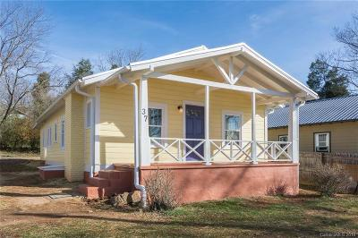 Buncombe County Single Family Home For Sale: 37 Piercy Street