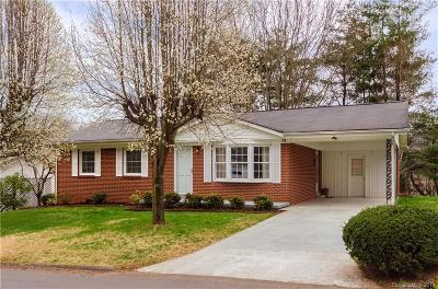 Waynesville Single Family Home Under Contract-Show: 79 Morning Drive