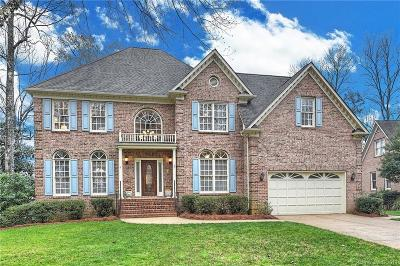Charlotte Single Family Home Under Contract-Show: 5023 Foxbriar Trail