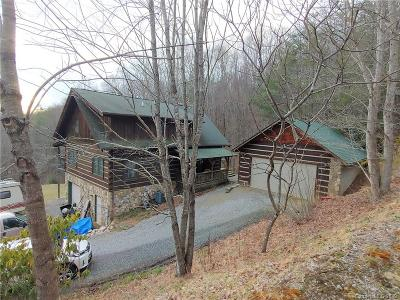 Haywood County Single Family Home For Sale: 133 Hemlock Springs Road