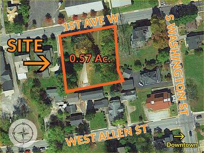 Henderson County Residential Lots & Land For Sale: 9999 W First Avenue