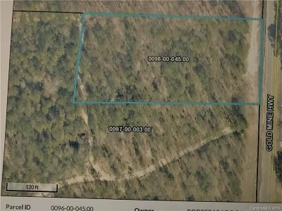 Residential Lots & Land For Sale: Gold Mine Road