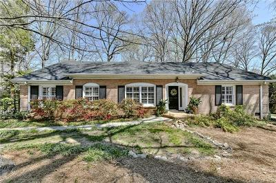 Charlotte Single Family Home For Sale: 5525 Sharon View Road