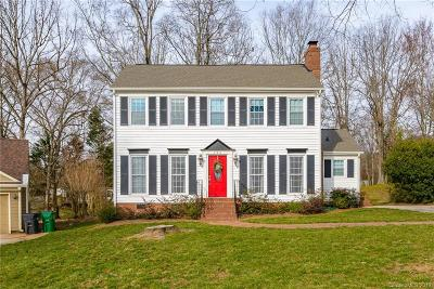 Charlotte Single Family Home Under Contract-Show: 11711 Apleby Lane