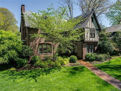Charlotte Single Family Home For Sale: 2201 Sherwood Avenue