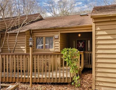 Bat Cave, Chimney Rock, Columbus, Gerton, Lake Lure, Mill Spring, Rutherfordton, Saluda, Tryon, Union Mills Condo/Townhouse For Sale: 155 Quail Cove Boulevard #1618