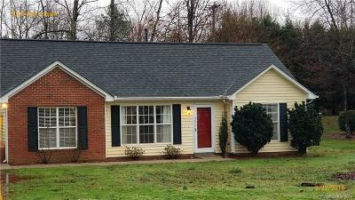 Indian Trail Single Family Home For Sale: 5008 West Street