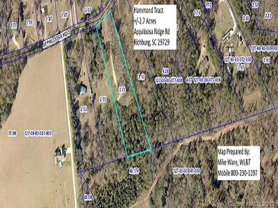 Residential Lots & Land For Sale: 2.7 Acres Appaloosa Ridge Road
