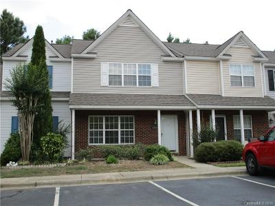Charlotte NC Condo/Townhouse For Sale: $155,000