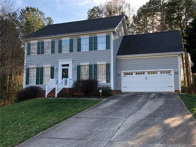 Matthews Single Family Home Under Contract-Show: 12426 Bentcreek Lane