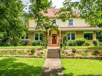 Asheville Single Family Home For Sale: 1291 Merrimon Avenue