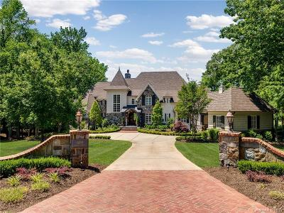 Charlotte NC Single Family Home Under Contract-Show: $3,075,000