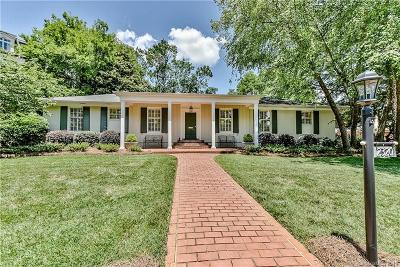 Myers Park Single Family Home For Sale: 2320 Queens Road E