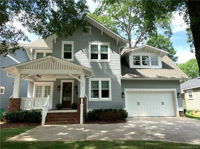 Dilworth Single Family Home For Sale: 633 Ideal Way