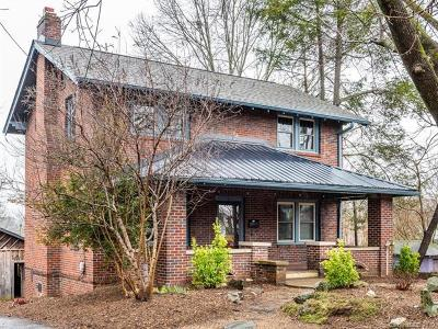 Asheville Single Family Home Under Contract-Show: 7 + 11 Longview Road