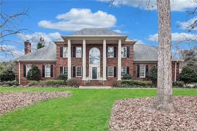 Matthews Single Family Home For Sale: 109 Valley Ranch Lane