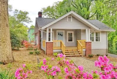 Asheville Single Family Home For Sale: 34 Vandalia Avenue