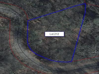Bat Cave, Black Mountain, Chimney Rock, Columbus, Gerton, Lake Lure, Mill Spring, Rutherfordton, Saluda, Tryon, Union Mills Residential Lots & Land For Sale: 212 Quail Ridge Road