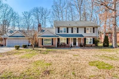 Charlotte Single Family Home Under Contract-Show: 6700 Burlwood Road