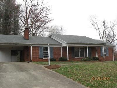 Caldwell County, Alexander County, Watauga County, Avery County, Ashe County, Burke County Single Family Home For Sale: 809 Lynview Street