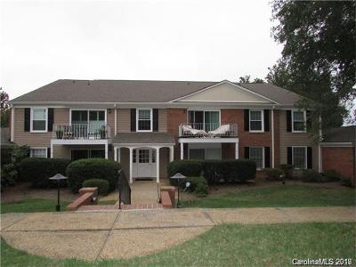 Charlotte Condo/Townhouse For Sale: 7001 Quail Hill Road