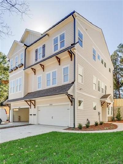 Charlotte Condo/Townhouse For Sale: 2556 Vail Avenue