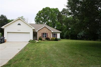 Stanley Single Family Home For Sale: 112 Brooks Drive