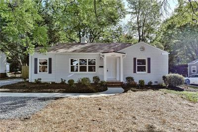 Charlotte Single Family Home For Sale: 2609 Ashley Road