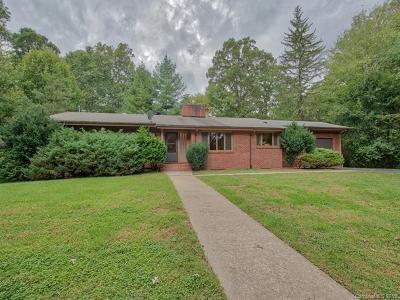 Waynesville Single Family Home For Sale: 107 Maple Grove Church Road