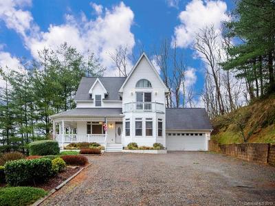 Waynesville Single Family Home For Sale: 41 Lloyds Mountain Ridge