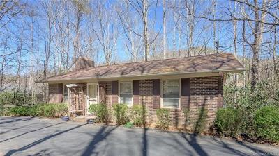 Black Mountain Single Family Home For Sale: 51 Mountain View Road #17-18