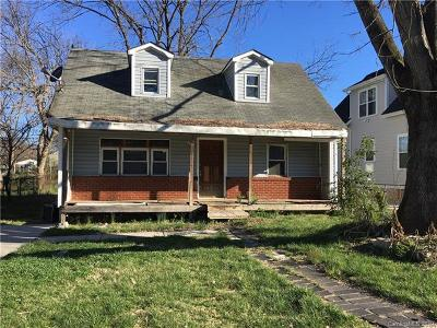 Charlotte Single Family Home For Sale: 1512 Norris Avenue