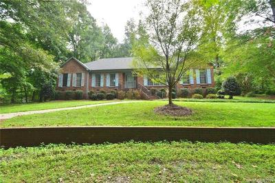 Matthews Single Family Home For Sale: 11019 Idlewild Road