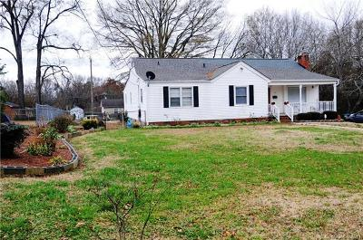 Bessemer City Single Family Home For Sale: 122 Texas Avenue