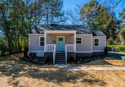 Charlotte Single Family Home For Sale: 2854 Mayflower Road