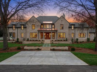Charlotte Single Family Home Under Contract-Show: 3452 Foxcroft Road