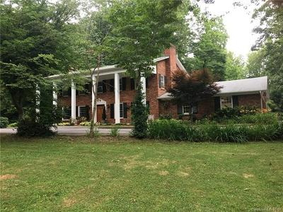 Canton Single Family Home For Sale: 21 & 61 Riverbend Road