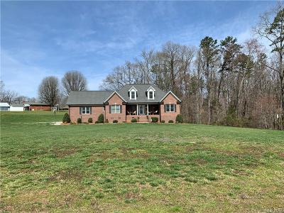 Stanly County Single Family Home Under Contract-Show: 15847 Mallory Lane