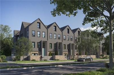 Charlotte Condo/Townhouse For Sale: 2306 Barry Street #Unit #3