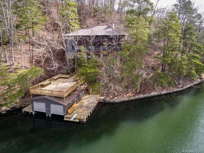 Lake Lure Single Family Home For Sale: 128 Sunset Lane