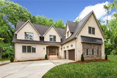 Charlotte Single Family Home For Sale: 4329 Tottenham Road