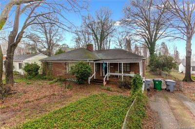 Charlotte Single Family Home For Sale: 721 Fugate Avenue