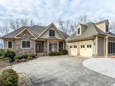 Brookside Forest, Firefly Cove, Lake Lure Village Resort, Laurel Lakes, Riverbend At Lake Lure, Rumbling Bald Resort, Sweetbriar Farms, The Peaks At Lake Lure, Twelve Mile Post, Vista At Bills Mountain Single Family Home For Sale: 150 Lost Trail #111