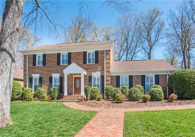 Matthews Single Family Home Under Contract-Show: 417 Walnut Point Drive