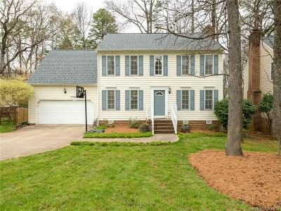 Charlotte Single Family Home For Sale: 9534 Harris Glen Drive