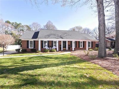 Charlotte Single Family Home For Sale: 6009 Gate Post Road