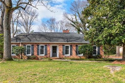 Charlotte Single Family Home For Sale: 2527 Tattersall Drive