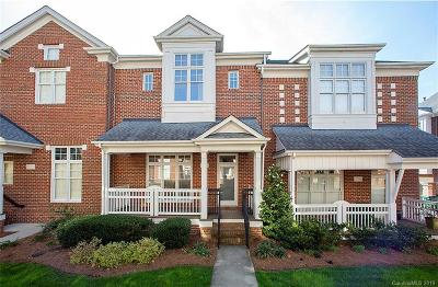 Charlotte Condo/Townhouse For Sale: 4708 S Hill View Drive